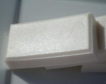 Clean Cotton Soap - White Shea Butter Soap - Homemade Soap - Bar Soap - 1/4 lb Soap - One Quarter Pound Soap