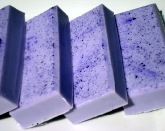 Lavender Soap, Purple Soap with Shea Butter, Homemade Soap, Pretty Soap, Bar Soap 1/4 lb Soap - One Quarter Pound Soap