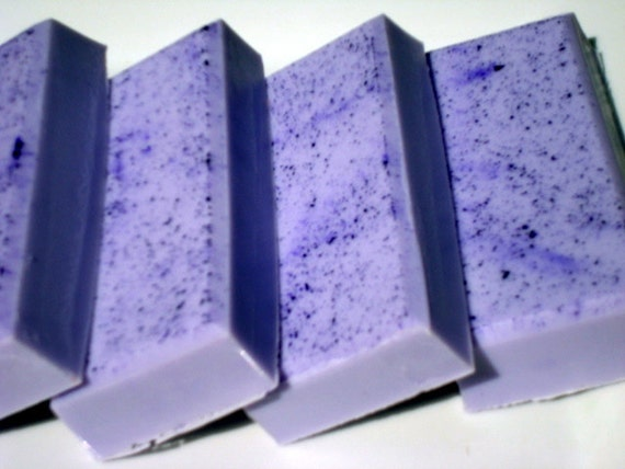 Lavender Soap - Purple Soap with Shea Butter - Homemade Soap - Pretty Soap - Bar Soap - 1/4 lb Soap - One Quarter Pound Soap