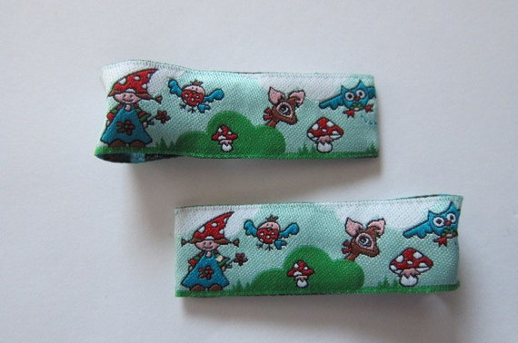 Forrest Friends HairClippies.  Perfect Accessory for Toddlers, Children, Teens or Women - READY TO SHIP