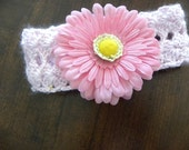 Headbands for little girls - flower and ribbons