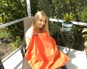 "Nursing/breastfeeding  covers""In Style"" Orange"