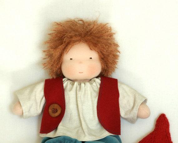 Waldorf  doll - boy doll-16 inch