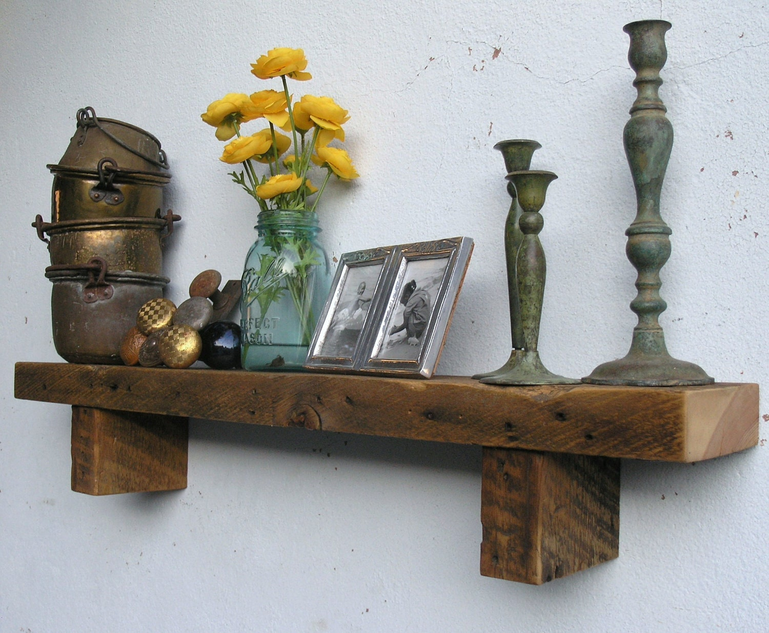 Rustic Wood Shelf Lumber From An 1860 70 39 S Gold Mine