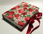 Offer for  Ilaria  - Journal from Rose Garden 3. - unique handmade notebook  (diary, events calendar, planer)