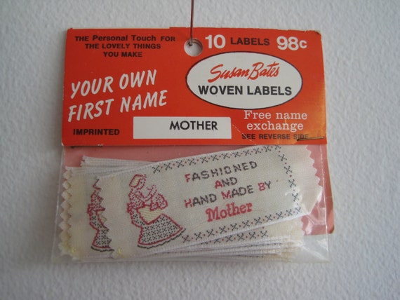 handmade labels for sewing handmade by sew on labels 861