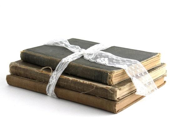vintage antique books