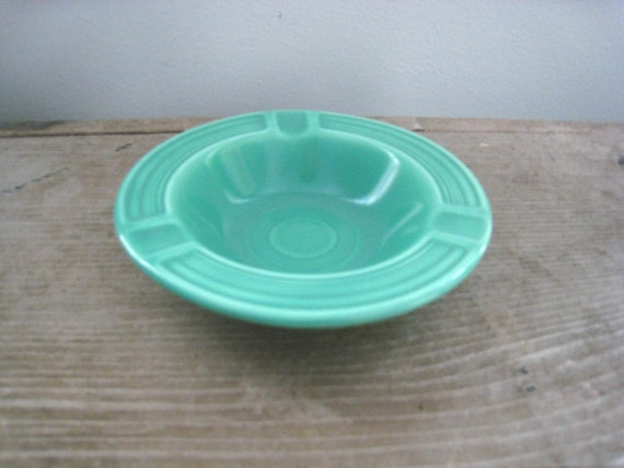 Vintage FIESTA Green FIESTA-WARE Ashtray