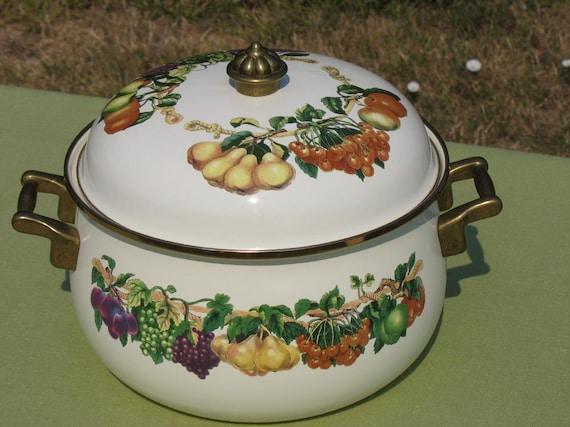 Vintage Casserole 6 Qt Tabletops Unlimited Kensington Garden