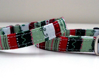 "Holiday Love Eco Cat Collar (8""-12"")"