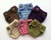 Diaper cover plush for newborn and baby photo prop--Custom Colors Available