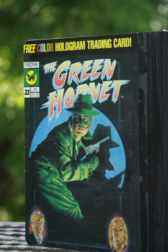Green Hornet and Kato large composition notebooks - NEW - Classic Covers