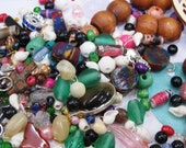SALE- Bead Destash Super Soup- Full 2x3 Baggie- Fun and Wonderful Bead Assortment