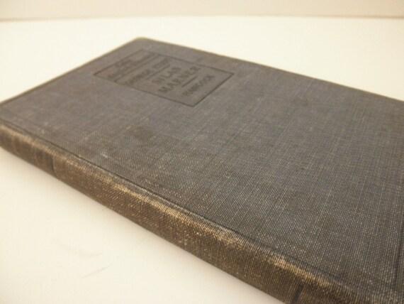1899 antique book - Silas Marner