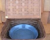 Vintage Splint Wood Pie Basket