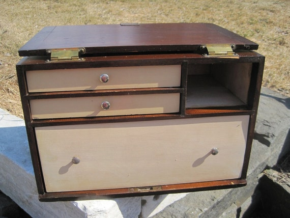 Vintage Surgical Storage Box- George P Pilling Son Co