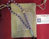 Mala bracelet Chakra-Japanese Miracle Beads 6th chakra: Ajna or 3rd eye