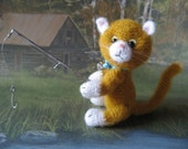 FREE SHIPPING Miniature Thread Artist Kitty