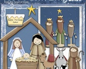 Happy Birthday Baby Jesus 9 graphics, 11 poems, 3 recipes, one background, and ideas