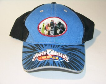 """Power Rangers...activate NOW. Baseball cap with hologram. 'New Old Stock""""."""