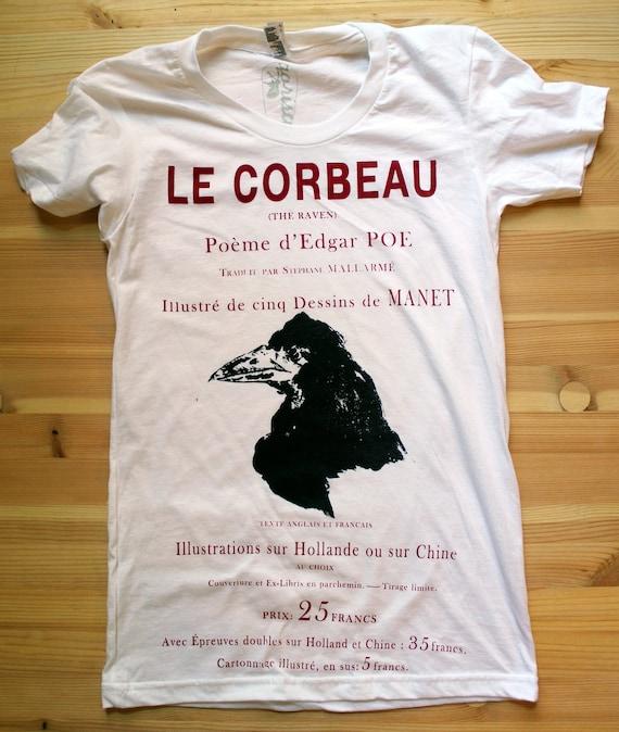 Le Corbeau -- Woman - Large White