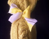 Mustard Yellow Newborn Hat