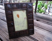 Wooden Photo Frame size 6x4 Coconut Shell Style