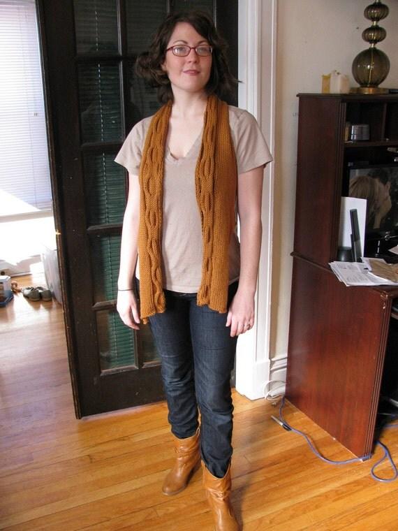 Knit Honeycomb Vest