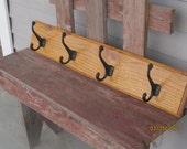 FALL SALE FREE shipping Golden oak coat hanger
