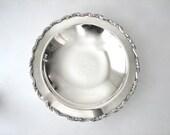 Vintage Silver Serving Bowl