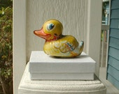 Toy Duck German, Made in West Germany by Lehmann, Retro, Vintage, Kitsch