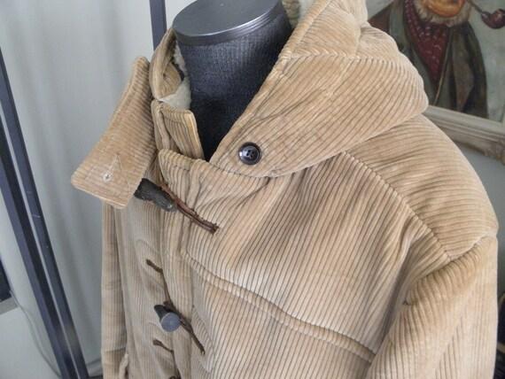 Corduroy Duffle Coat - Sm Coats