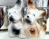 Vintage Puppy Salt and Pepper Shakers