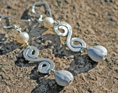 Job's Tears Sterling Silver Signature Simply Maui Earrings