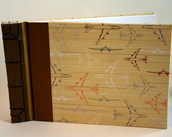 Japanese Stab Binding Book - Travel Journal