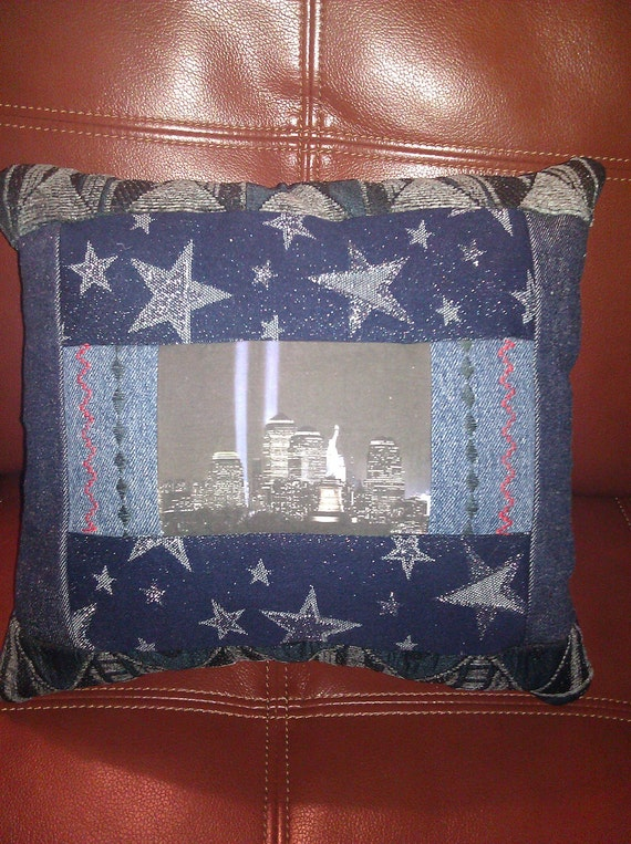 Patriotic 9-11 Tribute Pillow