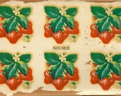 Vintage Eagle Transfer - Strawberries  No.163