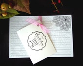 Extra Blank Recipe Cards (50 pack)