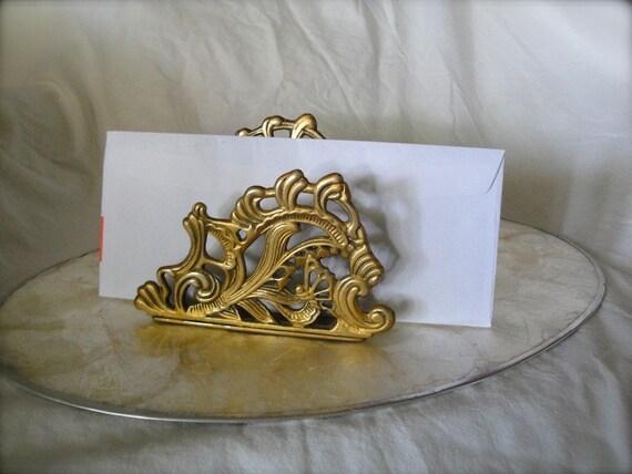 Reserved for Serra Gold mail rack or napkin holder