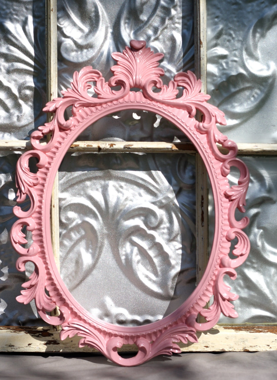 Items Similar To Ornate Oval Baroque Frame Wedding Photo