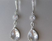 Arrielle Clear Earring with Crystal