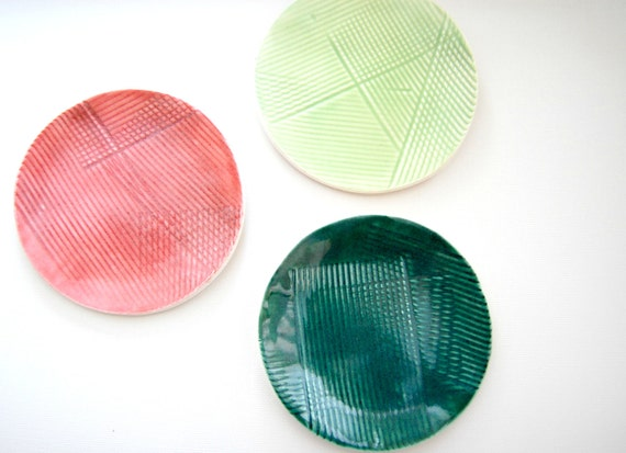 little bits Porcelain Mini Plates fiesta