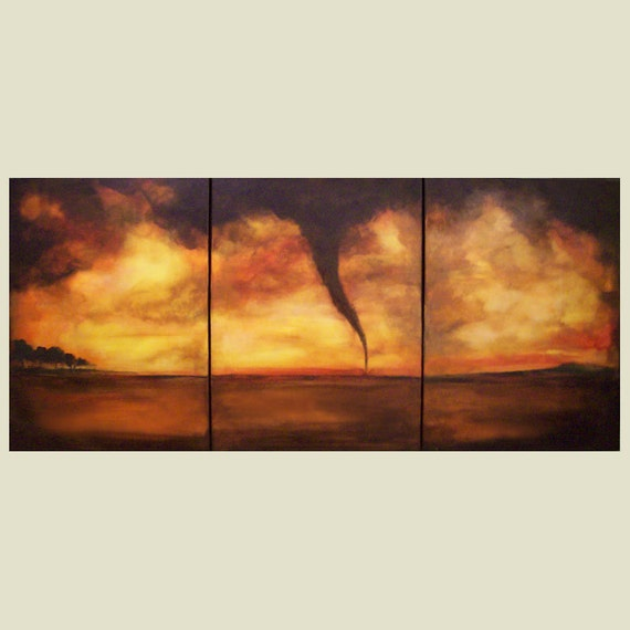 Twister tornado Large Contemporary Art that couples agree on - Custom Large Painting