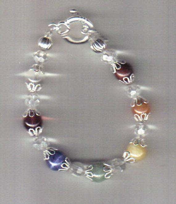 Elegant Chakra Bracelet