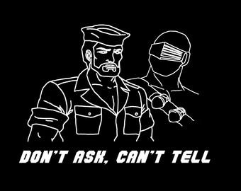 GI Joe T Shirt - Snake Eyes Shipwreck Funny Tee - Free Shipping