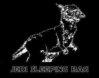 Jedi Sleeping Bag T shirt - Star Wars Taun Taun - Free Shipping