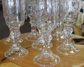Hillbilly / Red Neck Wine Glass Kerr Brand Set of 2