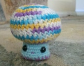 Shroomi: crochetted mushroom doll- SMALL
