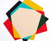 "Original painting - ""Pendleton"" 18 x 18 geometric minimalist abstract"