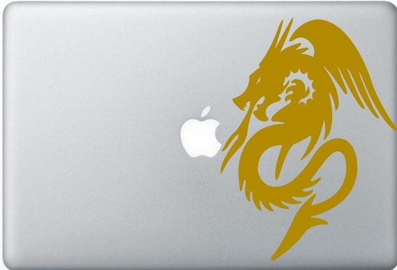 Dragon, magic laptop DECAL- macbook iPad computer vinyl sticker